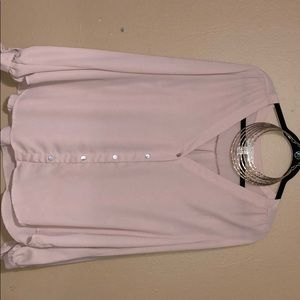 Forever 21 Tops - Blush Blouse